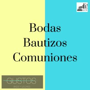 BODAS BAUTIZOS COMUNIONES EVENTOS